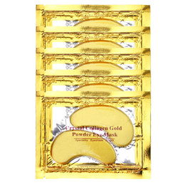 PILATEN Collagen Crystal Eye Masks Anti-puffiness moisturizing Eye masks Anti-aging masks collagen gold powder eye mask 2500pair lot