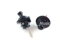 Wholesale 1 Set of Black Round Head Electric Guitar Strap Locks Skidproof Straplocks Wholesales