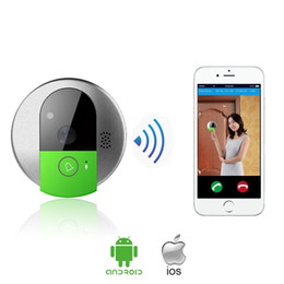 Wholesale Wi Fi Video Door Bell with Night Vision Camera for Home Security P Door Cam Monitor Via Smartphone Control