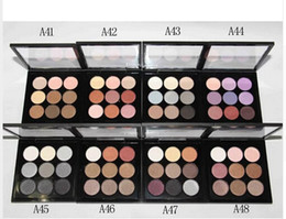 free shipping hot new makeup 9 color eyeshadow palette (8Pieces Lot)