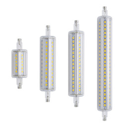 Nouveau R7s Dimmable Led 25W 118mm 360 degrés 15W 78mm lampadas ampoule led 30W 135mm 40W 189mm remplacer lampe halogène à partir de lampe halogène 15w conduit fournisseurs