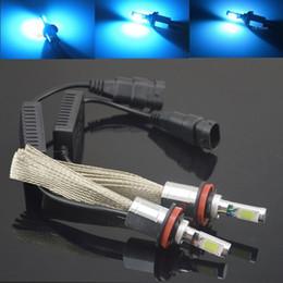 2x H3 H8 H11 LED Head Light 30W 60W 12V 24V CREE 7200LM Car Xenon Blue Headlight Fog Lamp Light Kit Globes Bulbs