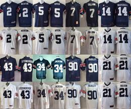 Wholesale Auburn Tigers Jersey Football Ncaa College Cam Newton Pat Sullivan Michael Dyer Bo JACKSON Tre Mason Nick Marshall Philip Lutzenkir stitched