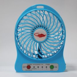 Wholesale Hot Sale Mini Portable Fan Multifunctional USB Rechargerable Kids Table Fan LED Light Battery Adjustable Speed F95B Multi Color