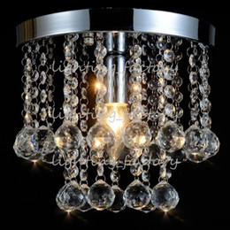150MM Modern European K9 Crystal Chandelier Light Ceiling Crystal Chandelier Ceiling Lustre E14 LED Bulbs Lamp Lighting 110-240V