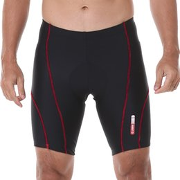 Men's 3D Silicon Padded Cycling Shorts Bicycle Bike Tights Riding Short Pants Sportwear Cycle Wear Fitness S-4XL