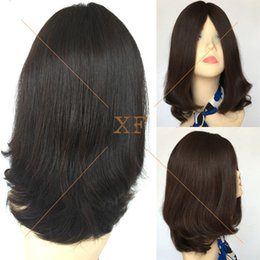 Wholesale Customized inch Unprocessed Virgin Brazilian Hair Jewish Wig Silk Top Kosher Wigs Manufacturer