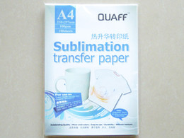 Wholesale Heat Transfer Printing Paper A4 Sublimation transfer paper CM