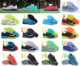 Discount Shoes Run Air Max Hot Sale Nike Air Max 2016 Men Run Outdoor Sports Shoes Cheap Original Brand Training Athletic Walking Sneakers Running Shoes Eur 40-45