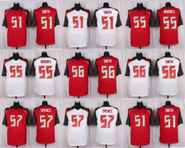 Wholesale 2016 Elite Mens Jerseys Daryl Smith Brooks Jacquies Smith Noah Spence Stitched Jerseys Free Drep Shipping