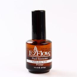 primer BASE COAT 14ML Nail Art Soak Off Color for UV Gel Polish acrylics 0.5fl oz gel EZFlow Bonder
