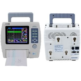 Wholesale ultrasound doppler baby fetal monital LCD TFT display rechargeable battery detect baby heart rate and mom monitor N ew machine BFM M