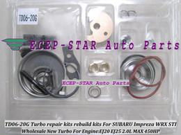 BEST Turbo Turbocharger repair kit kits rebuild kits TD06-20G TD06 20G TD0620G For SUBARU Impreza WRX STI Engine EJ20 EJ25 2.0L MAX 450HP