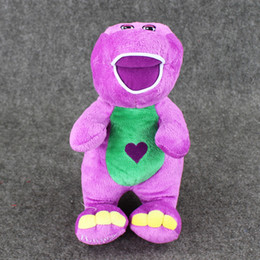 Wholesale Barney Child s Best Friend barney sings quot I Love You quot song Plush Soft Stuffed Doll Toy for kids gift EMS