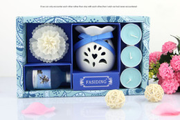 Wholesale Set of Natural Scents Essential Oils And Synergies Aroma Diffuser Flora For Reed Diffuser With Candle Code