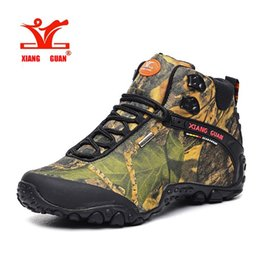 Wholesale Brand Men winter outdoor lace up camouflage high top Motorcycle western desert hunting martin boots work tooling ankle climbing hiking boots