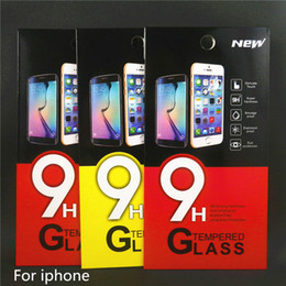 Wholesale Tempered glass for apple iphone s s s c SE plus screen protector i phone6 iphone6 h D