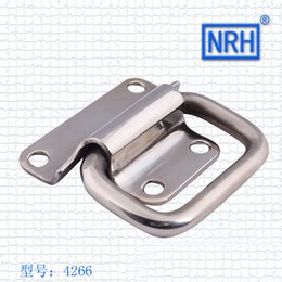 Wholesale 4266 suitcase handle air box aluminum box installation small handle mm NRH hardware new furniture wooden handle