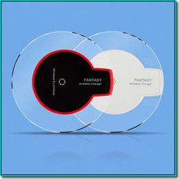 Wholesale Qi Wireless Charger receiver module and Charging Pad Cell phone charger dock base Mini Charge Pad For Samsung nokia htc LG cellphone