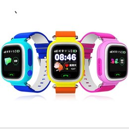 Wholesale Q70 GPS Long Standby Smart Watch Kid Positioning SmartWatch Sleep Tracker Base Station Wrist Watch with Smartphone App for Android free ship