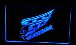 LS176-b Capitals Bar Beer Neon Light Sign