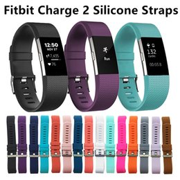 Wholesale Fitbit Charge Wrist Wearables Silicone Straps Band For Fitbit Charge Watch Classic Replacement Silicone Bracelet Straps Band No Tracker