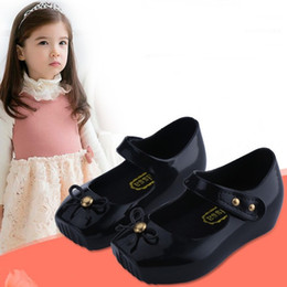 Wholesale Ballet mini melissa shoes kids Melissa Ballet Sandals Original melissa infantil baby shoes Toddler frozenly schoenen