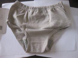 3pcs xl xxl xxxl nano magnetic pants tourmaline panties underwear Unisex briefs old magnetotherapy health underpants