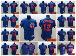 Wholesale Elite Chicago Cubs Kyle Schwarber Santo Banks Bryant Anthony Rizzo Arrieta Signed Signature Custom Jersey