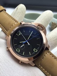 Wholesale Free delivery annual selling luxury leather men s automatic mechanical watch strap date display luminous depth Waterproof Sport Watch