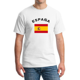2016 European Cup Defending Champion Spain Football Fans Cheer National Flag T-Shirts Football Sports Gym T shirts For Men
