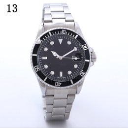 2017 New Luxury Brand GMT Ceramic Bezel Men's Mechanical Stainless Steel Non-Automatic Movement AAA AAA Rose Movement