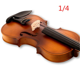 V132 High quality Fir violin 1 4 violin handcraft violino Musical Instruments accessories Free shipping