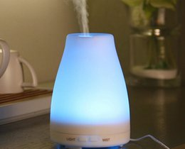 2016 100ml Essential Oil Diffuser Portable Aroma Humidifier Diffuser LED Night Light Ultrasonic Cool Mist Fresh Air Spa Aromatherapy