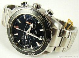 Wholesale Factory Supplier AAA Top Quality Wristwatch Luxury Planet Ocean Co Axial Chronograph Quartz Stopwatch Mens Watch Men