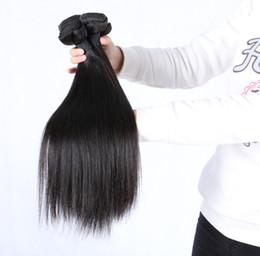 Ahorre la trama malasia del pelo recto del pelo del grado 7A del grado del 30% 3 / 4pcs porción, los paquetes del pelo malasio de la Virgen, la extensión del pelo humano del 100% se pueden teñir cheap dyed malaysian hair bundles desde teñidos haces de pelo de malasia proveedores