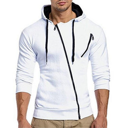Mens Zipper Cardigan For Hoodie Tracksuit Autumn Winter Cotton Mens Jacket Casual Fashion Mens Tracksuit Coat For White Drop Shopping
