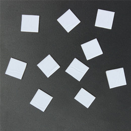 Wholesale New Arrival High Quality x12mm Square Double Sided Self Adhesive White Foam Fixing Pads Cushions For Card Making Arts