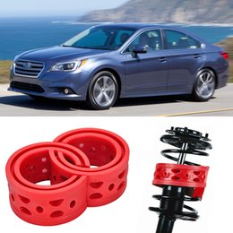 Free Shipping 2pcs Super Power Rear Car Auto parts Shock Absorber Spring Bumper Power Cushion Buffer Special For Subaru Legacy