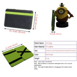 Wholesale allet watch Magic Wallets Men Wallet Purse Money Clip Magnet Ultrathin Pocket Clamp Credit Card Case Small Originality Wallet Orange amp