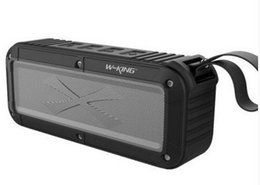 Wholesale W KING S20 Waterproof Bluetooth Speaker Wireless NFC Super Bass Suberwoofer Outdoor Portable Speaker With Retail Box