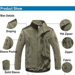 Windproof Camping Jackets Man Fleece TAD Tactical Softshell Jacket Thermal Outdoor Sport Hunting Camping Jackets
