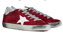 Wholesale Italy Golden Goose Luxury Brands Casual Shoes GGDB Low Top Shoes Men and Women Slip Genuine Leather Woman Scarpe Basse