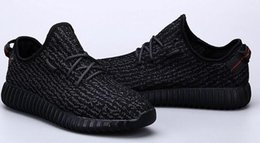 Wholesale Global epidemic In Spring of Y350 Kanye coconut Shoes Black Grey Y3 Men s shoes sneakers casual shoes Best selling Ms shoes Hot