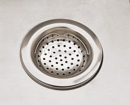 Wholesale Fashion Hot Kitchen Basin Drain Dopant Sink Waste Strainer Basket Leach Plug Stainless Steel