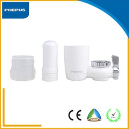 Wholesale Household appliances Faucet water filter and with Activated Carbon Easy to install water filter and white color