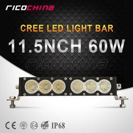 Wholesale 10 Years Guaranty inch W LED Work Lamp Bar Single Row Amber White Combo Beam Night Fog Lights