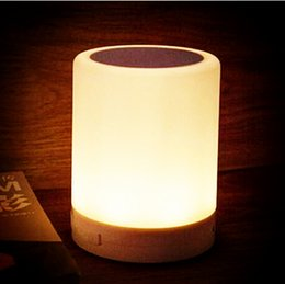 Wholesale LED Intelligent Wireless Bluetooth Stereo Feeling Light Auto sensing Night Light CS9019 Stereo Subwoofer Bluetooth Smart Card Sensor Lights