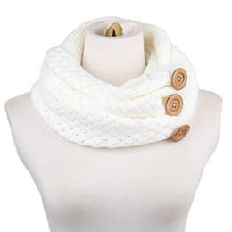 Compra Online Mejores bufandas de moda-Al por mayor-El mejor reparto de la nueva manera de la buena calidad de Invierno Cálido Dos Círculo Cable de punto cuello de la capucha de la bufanda de los anillos del cuello de las mujeres de señora regalo 1PC