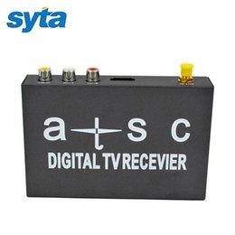 Récepteur TV numérique ATSC HD prend en charge MPEG-4 / MPEG-2 / 1080P / NTSC avec entrée RCA audio / vidéo port USB pour les Etats-Unis Canada Mexique à partir de vidéo numérique rca fabricateur